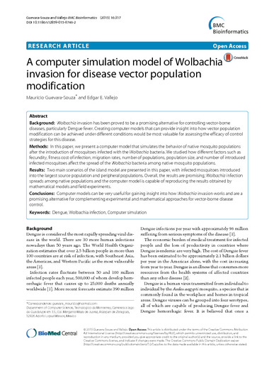 A Computer Simulation Model of Wolbachia Invasion for